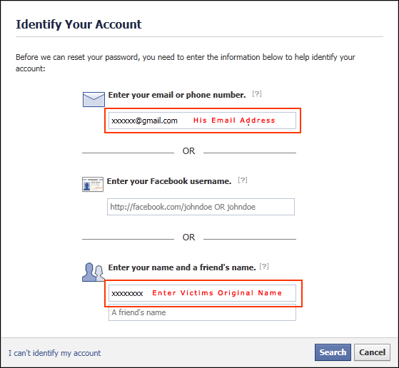 how to detect ip address from facebook
